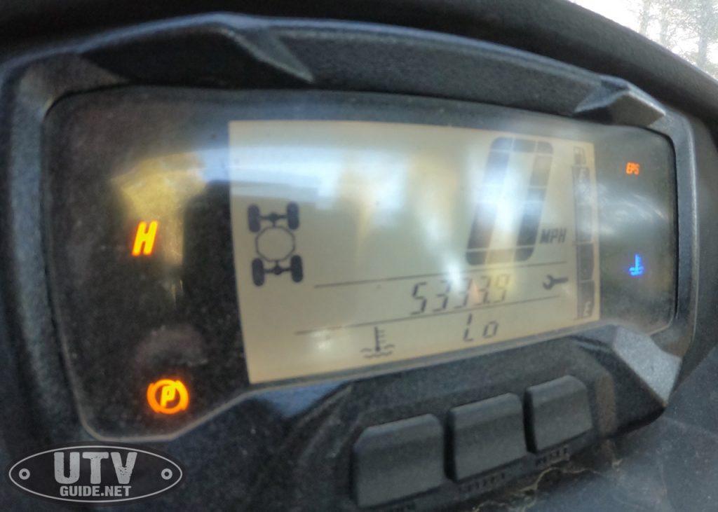 Yamaha Wolverine X2 Odometer