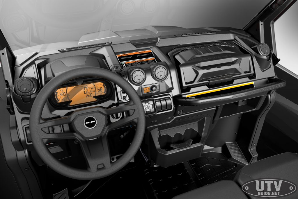 Defender Limited Cab Interior W Utv Guide