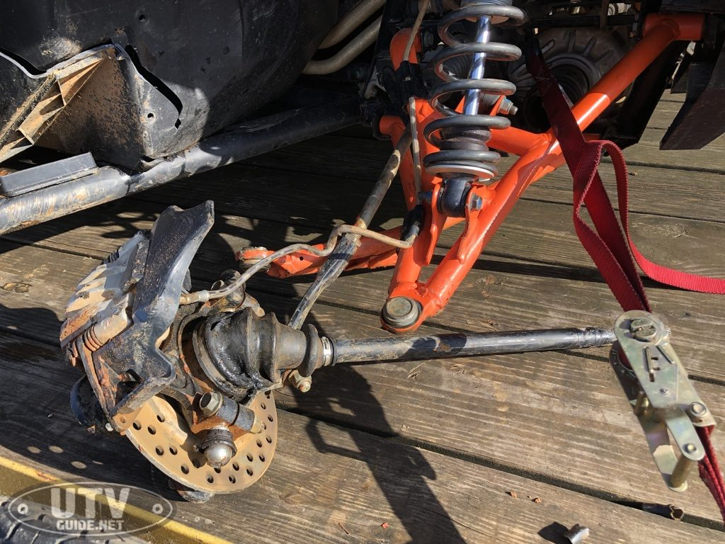 Polaris General Suspension Damage