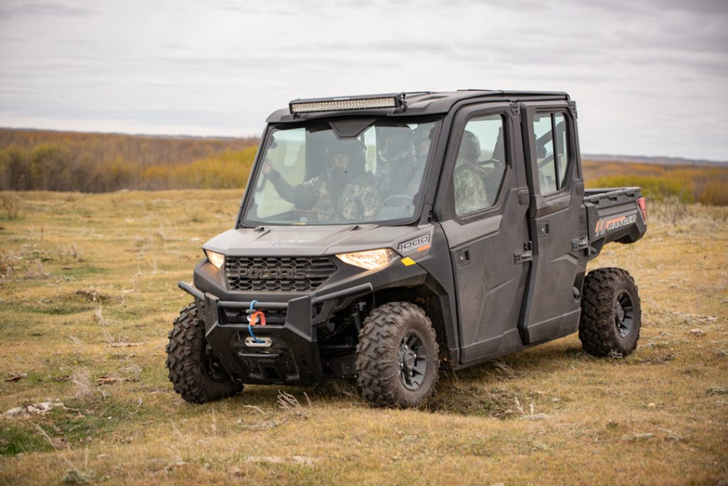 polaris ranger 1000 waterfowl hunting