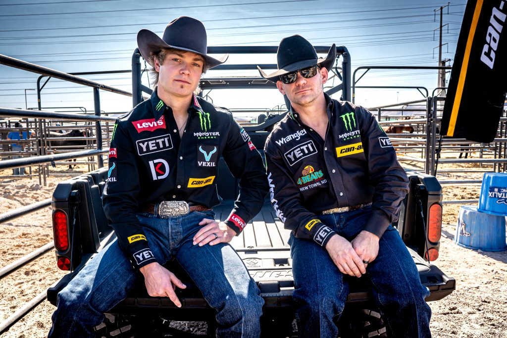Chase Outlaw and Derek Kolbaba