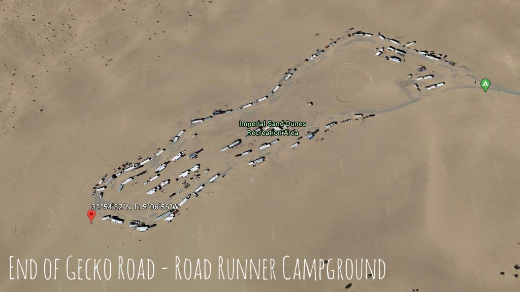 Road Runner camping area - Glamis