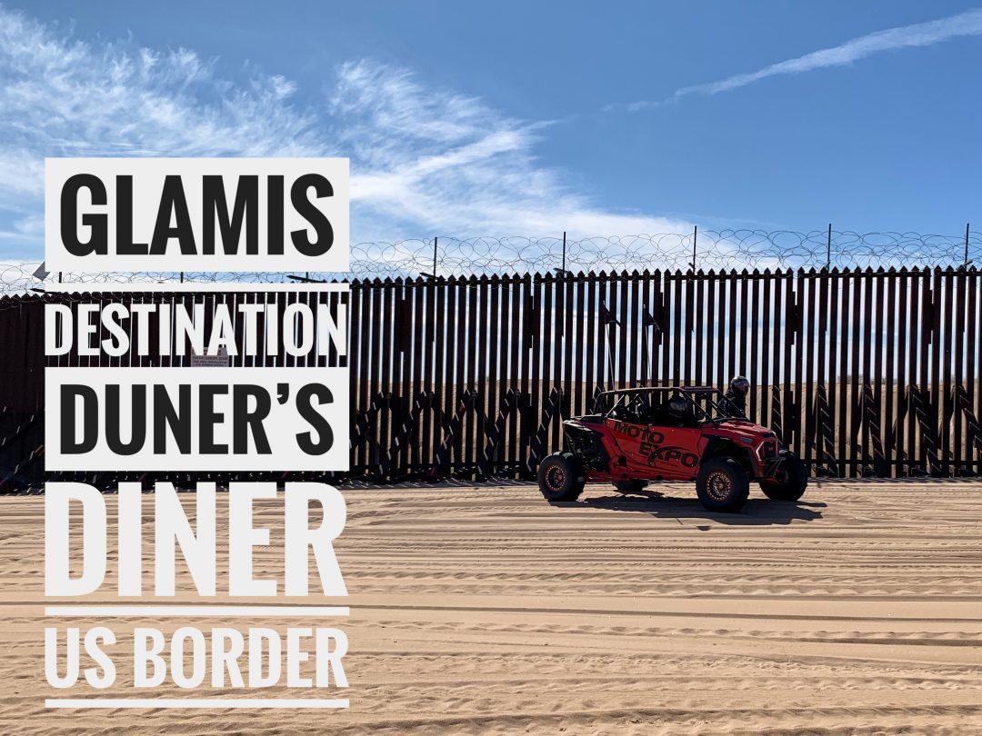 United States Border Fence - Imperial Sand Dunes