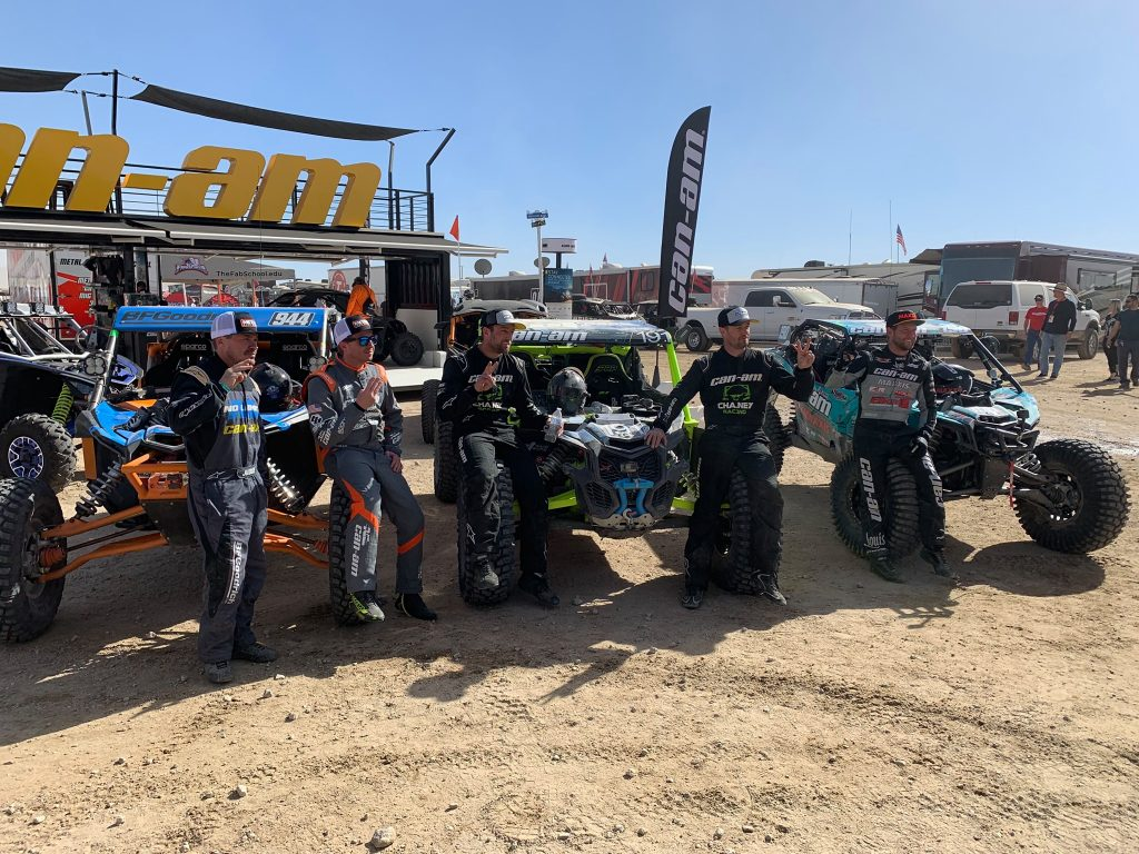 King of the Hammers Podium