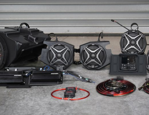 SSV Works 3- and 5-speaker kits with JVC backup-camera-ready radio
