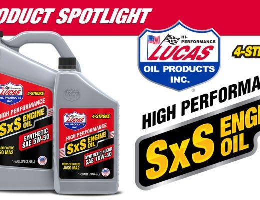 Lucas Oil's Synthetic 4-Stroke SxS Engine Oil
