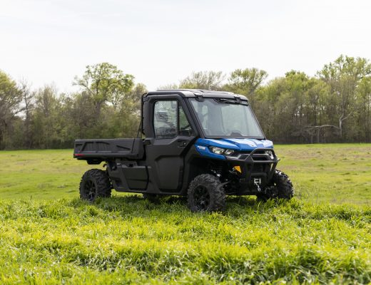 Can-Am Defender Pro Limited with HVAC