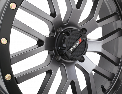 20-inch Gunmetal Grey ST-3 Wheel