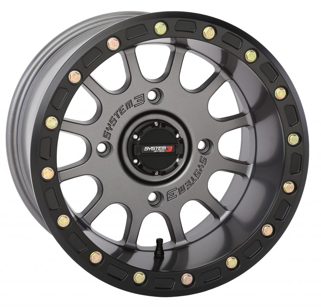 10-inch wide SB-5 Beadlock wheel from System 3 Off-Road