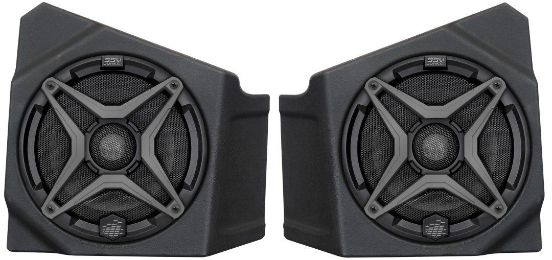 SSV Works 2020 Kawasaki Teryx KRX1000 Kick Panel Speaker Pods