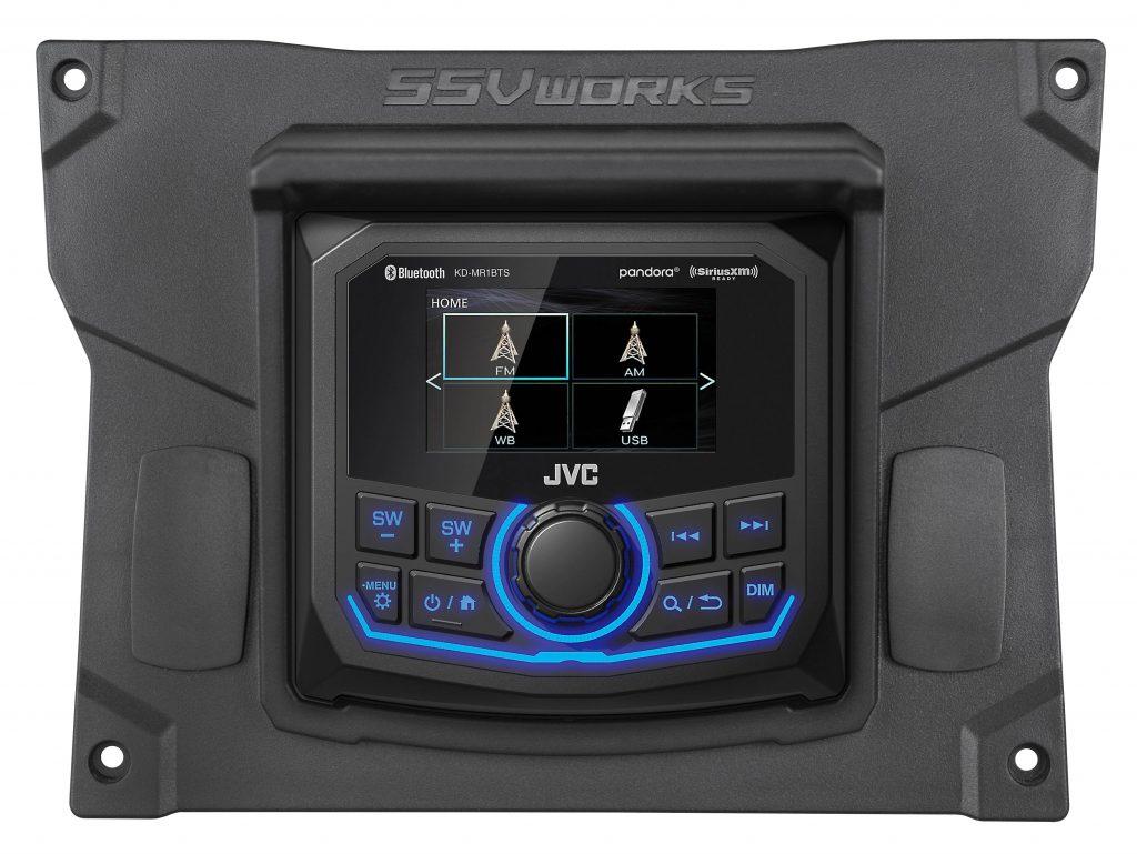 SSV Works' KX-R1 Kit with MR1 Digital Media Receiver for Kawasaki's Teryx KRX 2020+
