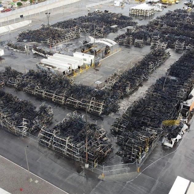 BRP Mexico Facility Fire