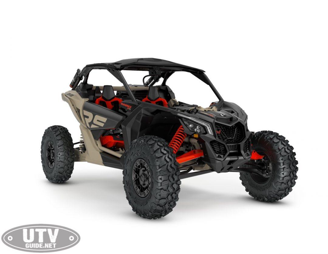 2022 Can-Am Maverick X3 XRS SAS Turbo RR Desert Tan Carbon Black Can-Am Red