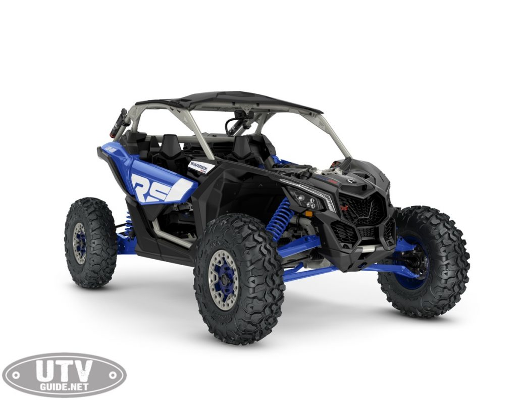 2022 Can-Am Maverick X3 XRS SAS Turbo RR Intense Blue Carbon Black Chalk Grey